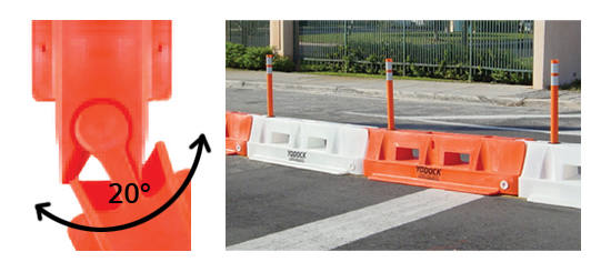 Barriers & Barricades for Pedestrian Channelizing, Airports