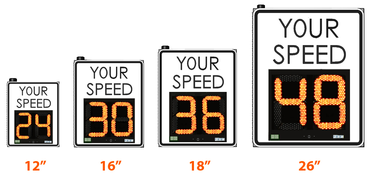 Sd Card Sizes >> DFB & Radar Speed Signs: DFB - Driver Feedback Signs