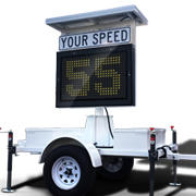 Type-II Radar Speed Trailer